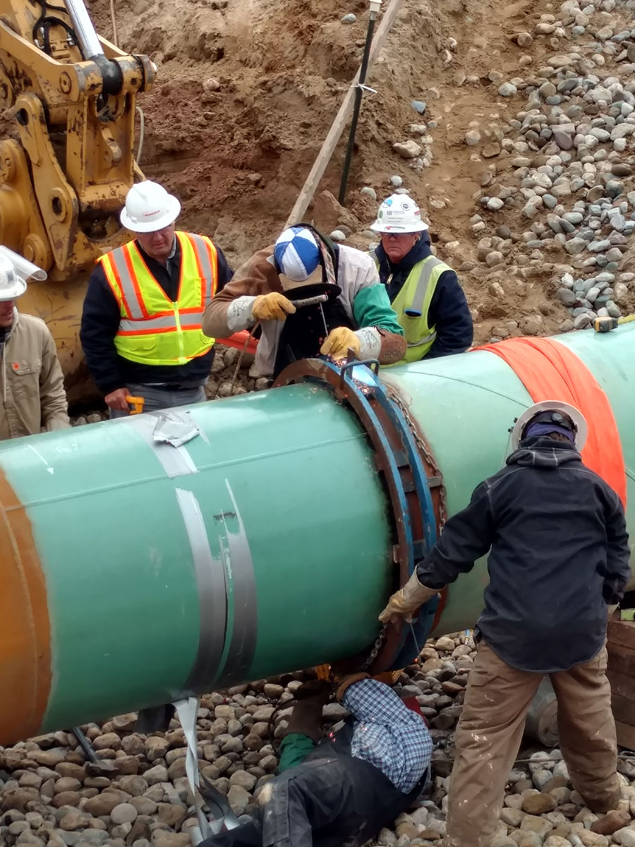 Charps Pipeline Construction