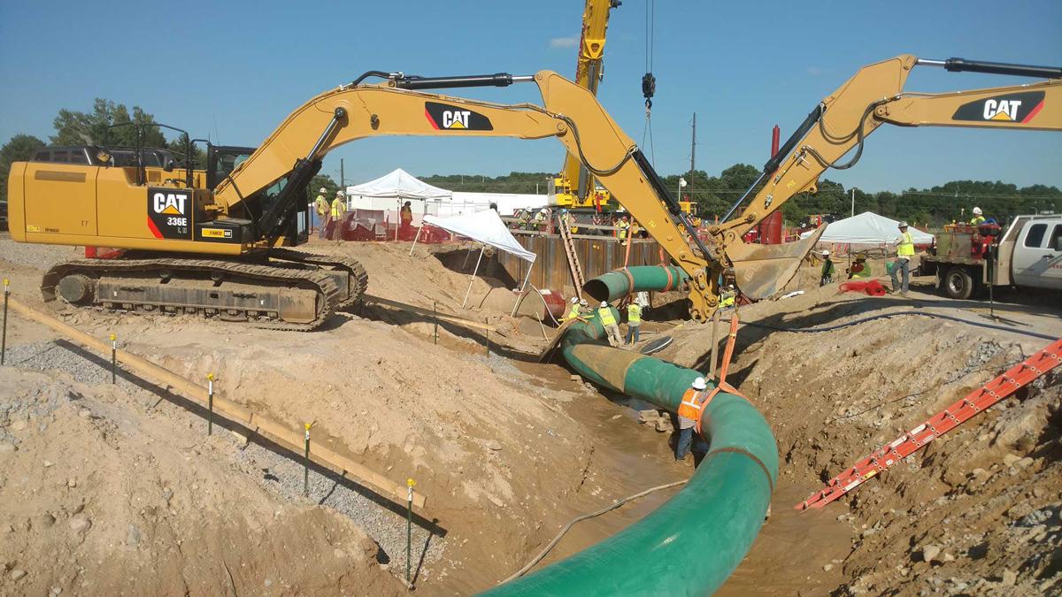 Pipeline Construction | Charps